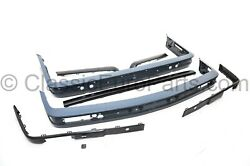 Euro Front And Rear Plastic Bumper Set With Trim For Bwm E30 Late Model 318 325