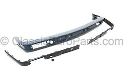 Euro Front Plastic Bumper Set With Trim For Bwm E30 Late Model 316 318 320 325
