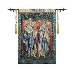 Angeli Laudantes By William Morris Tapestry Wall Medieval Art Hanging Home Decor