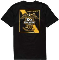 Pabst Blue Ribbon Condor And Ribbon White T-shirt Cotton Tee Vintage Gift
