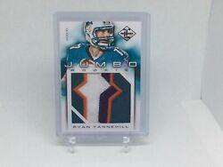 2012 Limited Ryan Tannehill Jumbo Rookie Patch 17/49 Jersey Number  1/1 Rare