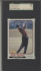 2001 For Kids Special Athlete Of The Year Tiger Woods Sgc 9 Rookie
