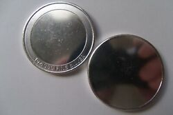 1oz 999 Silver Engravable Blank. Design And Create Your Own Custom Coin. Text Only