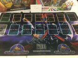 Yu-gi-oh National Championship 2009 Gorz Playmat - Unreleased Upper Deck Product