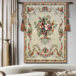Creama Floral Woven Tapestry Wall Medieval Art Hanging Home Decor 100% Cotton