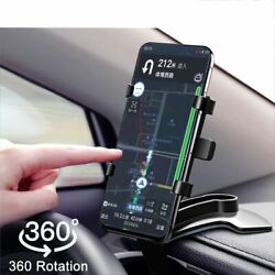 Car Phone Holder 360 Degrees Universal Smartphone Stands Rack Dashboard Support