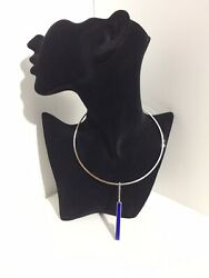 Modernist Italian Silver Necklace By 1ar