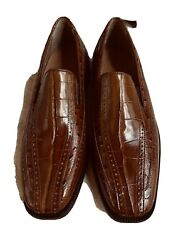Menandrsquos Stacy Adams Genuine Leather Marco Cognac Size 8 Loafers