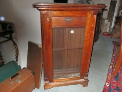 Vintage 78 Rpm Record Cabinet Holds 100 Records
