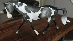 Epona Breyerfest 2020 Special Run Breyer on Strapless Mold BRAIDED Pinto SR