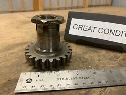 1942 Indian Motorcycle 741 Scout Transmission Driver Gear Great Threads Look