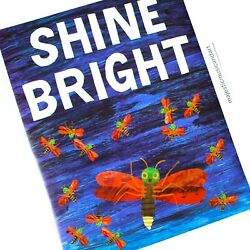 Original 2014 Eric Carle Firefly Lithograph Poster