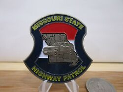 Missouri State Highway Patrol Commercial Vehicle Enforcement Challenge Coin