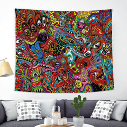Hippie Mandala Tapestry Bedroom Wall Hanging Psychedelic Tapestries Home Decor