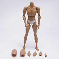 ZYTOYS 1 6 Scale Narrow Shoulder Man Action Figure Body Higher B007 12mm w Neck $20.99