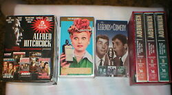 Hitchcock Kennedy Lucy Comedy Lot Of 11 Vhs Tapes Sealed Sold As Is As Shown