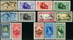 Italy C28-c35 C37-c39 Air Mail Postage Stamp Collection Europe 1932 Mint Nh Og