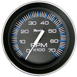 Faria Beede Instruments 33005 4 Tachometer 7000 Rpm All Outboard Coral