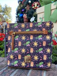 2020 Disney Parks Dooney amp; Bourke Tangled Rapunzel Crossbody 10th Anniversary B $239.95