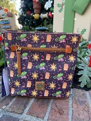 2020 Disney Parks Dooney amp; Bourke Tangled Rapunzel Crossbody 10th Anniversary A $239.95