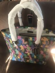 Disney Parks 10th Anniversary Wonder Mickey Mouse Large Tote Dooney And Bourke