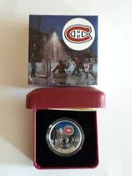 2017 Montreal Canadiens Silver 10 Passion To Play Coin In Box And Coaand039s