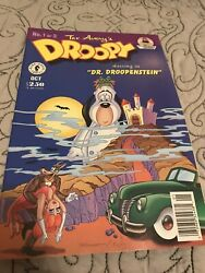 Vintage 1995 Droopy Dog Dark Horse Comics Dr. Droopenstein Comic Book