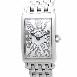 Authentic Franck Muller Long Island Petite Relief Womenand039s Watch 802qz Rel /37464