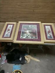 Glynda Turley Prints Signed. Hand In Hand Spring Splendor 1 And 2.