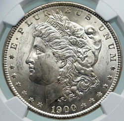 1900 O United States Of America Silver Morgan Us Dollar Coin Eagle Ngc Ms I87397