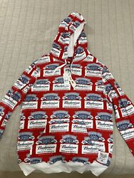 New Budweiser Sweater And Hoodie Size M