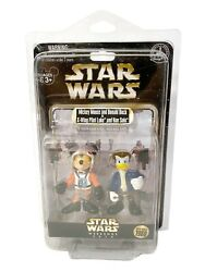 Disney Star Wars Weekends Mickey And Donald As X-wing Pilot Luke And Han Solo Le1980