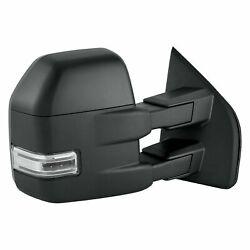 For Ford F-150 15-17 Replace Passenger Side Power Towing Mirror Heated Foldaway