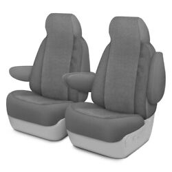 For Ford Courier 72-82 Dash Designs Cool Mesh 1st Row Silver Custom Seat Covers