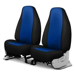 For Chevy Express 2500 03-20 Genuine Neopreneandtrade 1st Row Blue With Black Custom