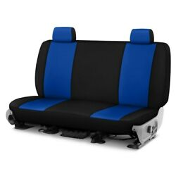 For Ford Courier 72-82 Neosupreme 1st Row Blue W Black Custom Seat Cover