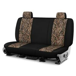 For Chevy El Camino 81-87 Camo 1st Row Migration Ll W Black Custom Seat Covers