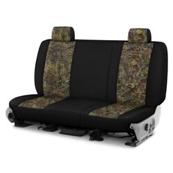 For Chevy El Camino 81-87 Camo 1st Row Woods W Black Custom Seat Covers