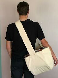 CANVAS NEWSPAPER CARRIER MESSENGER MAIL BAG NEW BIG $35.77