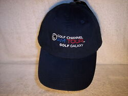 New Golf Channel Am Tour Golf Galaxy Player's Cotton Strapback Caps/hats