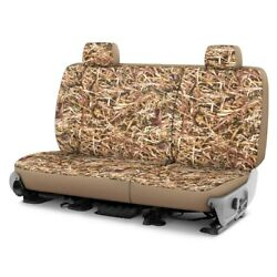 For Jeep Liberty 08-12 Dash Designs Cowboy Camo 2nd Row Straw Custom Seat Covers