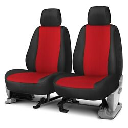 For Toyota Tundra 12-13 Rixxu Neo Series 1st Row Black And Red Custom Seat Covers