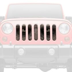 For Jeep Renegade 15-18 1-pc Walking Dead Style Perforated Main Grille