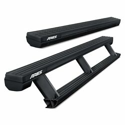 For Chevy Colorado 15-20 Running Boards 3.3 Actiontrac Retractable Cab Length