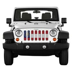 For Jeep Wrangler Jk 18 Main Grille 1-pc State And City Flags Series Georgia State