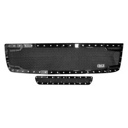 For Chevy Silverado 2500 Hd 11-14 Main And Bumper Grille Kit 2-pc Rc2 Twin Mesh