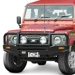 For Land Rover Defender 90 94-95 Bumper Deluxe Full Width Raw Front Winch Hd