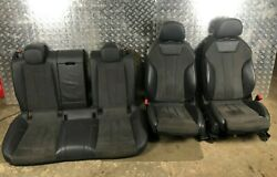 2018 Audi A5 8w Coupe S Line Interior Leather Seat Set W/door Cards Rhd