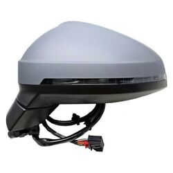 For Audi A4 Quattro 17-18 Pacific Best Driver Side Power View Mirror Heated