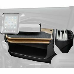 Gripmaster Birch Desk With Built-in Power Inverter Ipad/tablet Mount And